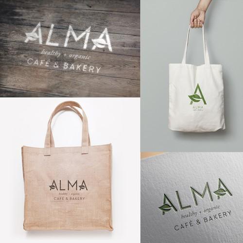 Logo for Alma Cafe