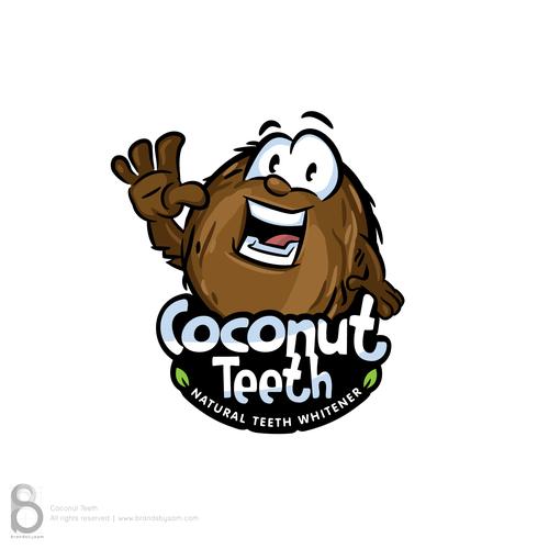 Mascot design concept for Coconut Teeth