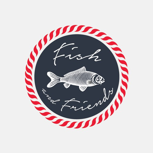 Brand concept for Fish and Friends