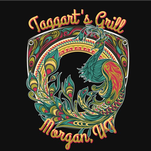 T-Shirt Design for Taggart's Grill