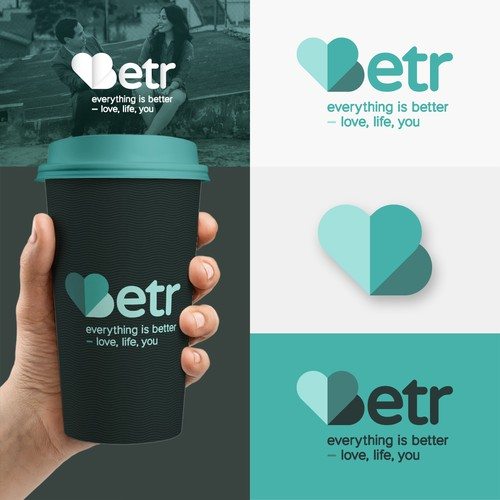 Logo for Betr, a dating app