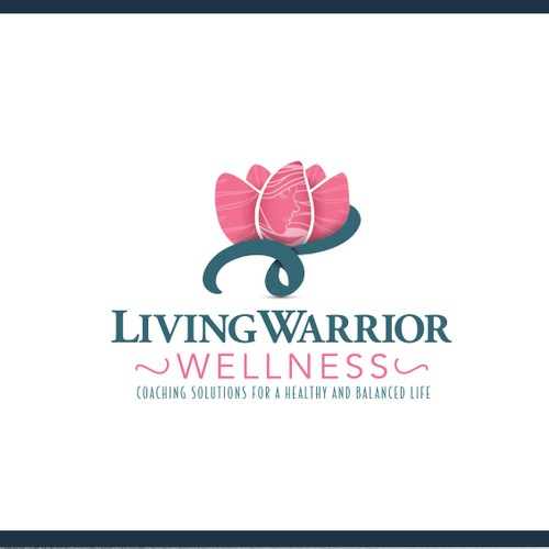 Logo concept for wellness studio