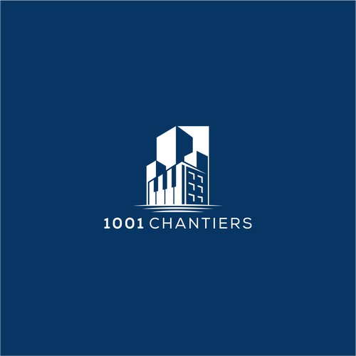 Logo concept for 1001 chantiers