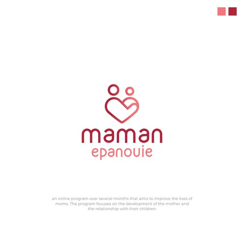 Logo design for Maman Epanouie