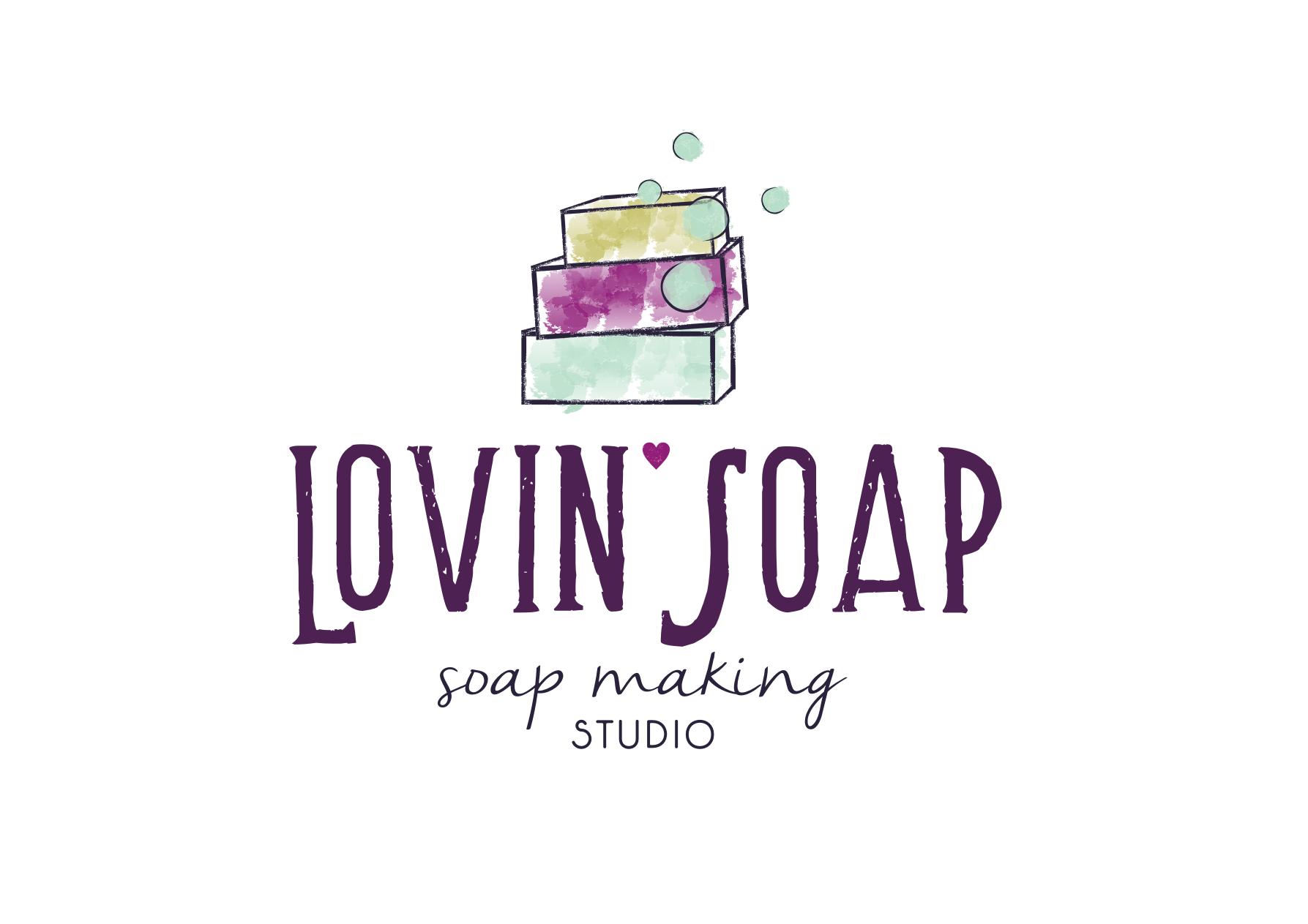 Create an artsy/craftsy logo for soap making studio!