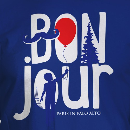Paris in Palo Alto  T-shirt