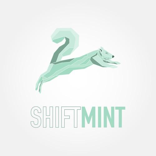 Fun, modern, and geekish logo for ShiftMint.