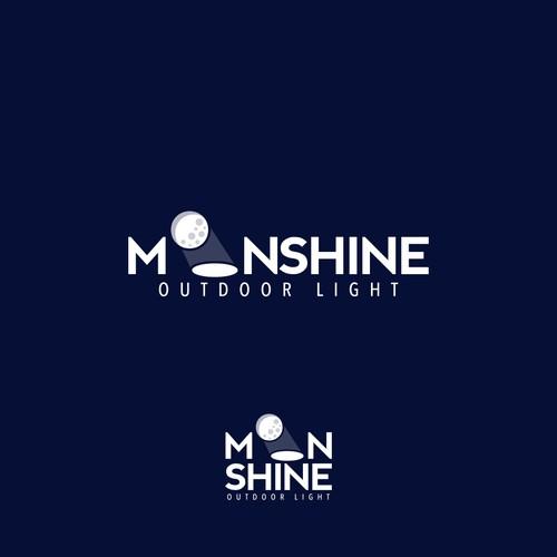 Logo Concept for Moonshine Light