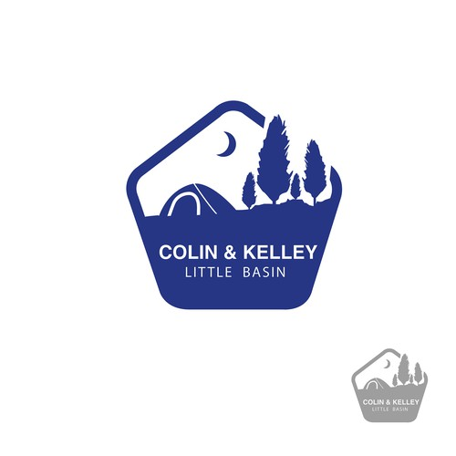 Colin & Kelly badge design