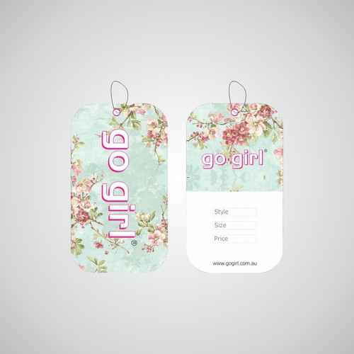 Go Girl Swing Tag