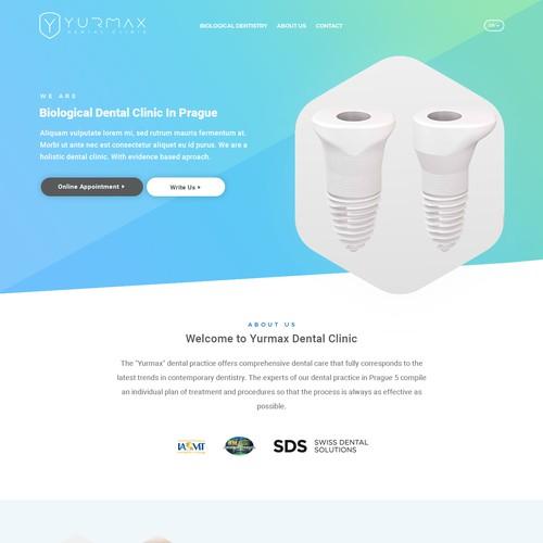 Web Design for Yurmax
