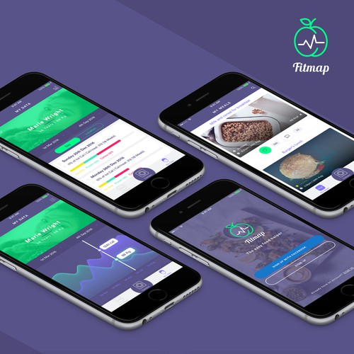 FitMap App   Track your meals