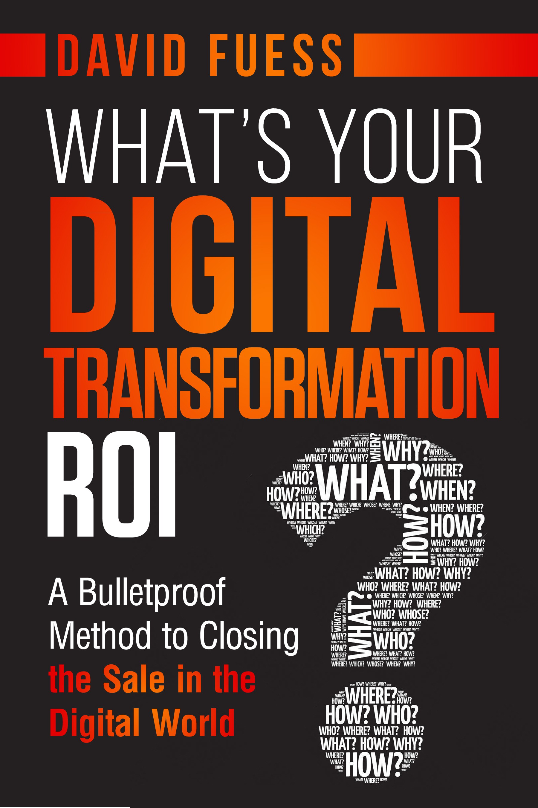 Design a best-selling cover for CEO (on selling in the digital world)