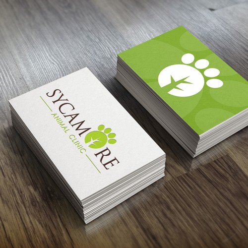 Create a logo for a new upscale animal clinic