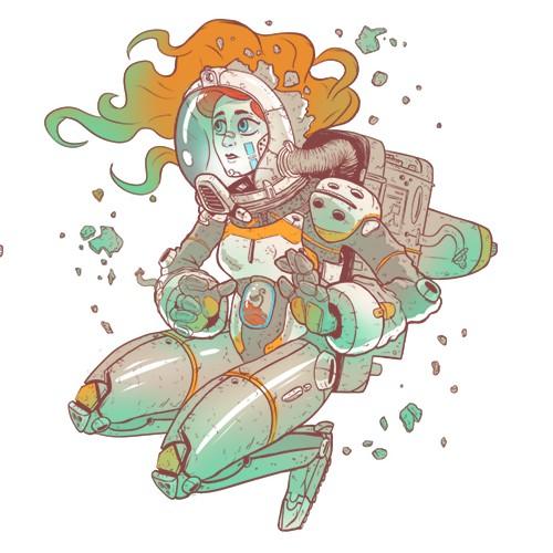 sci-fi girl 2