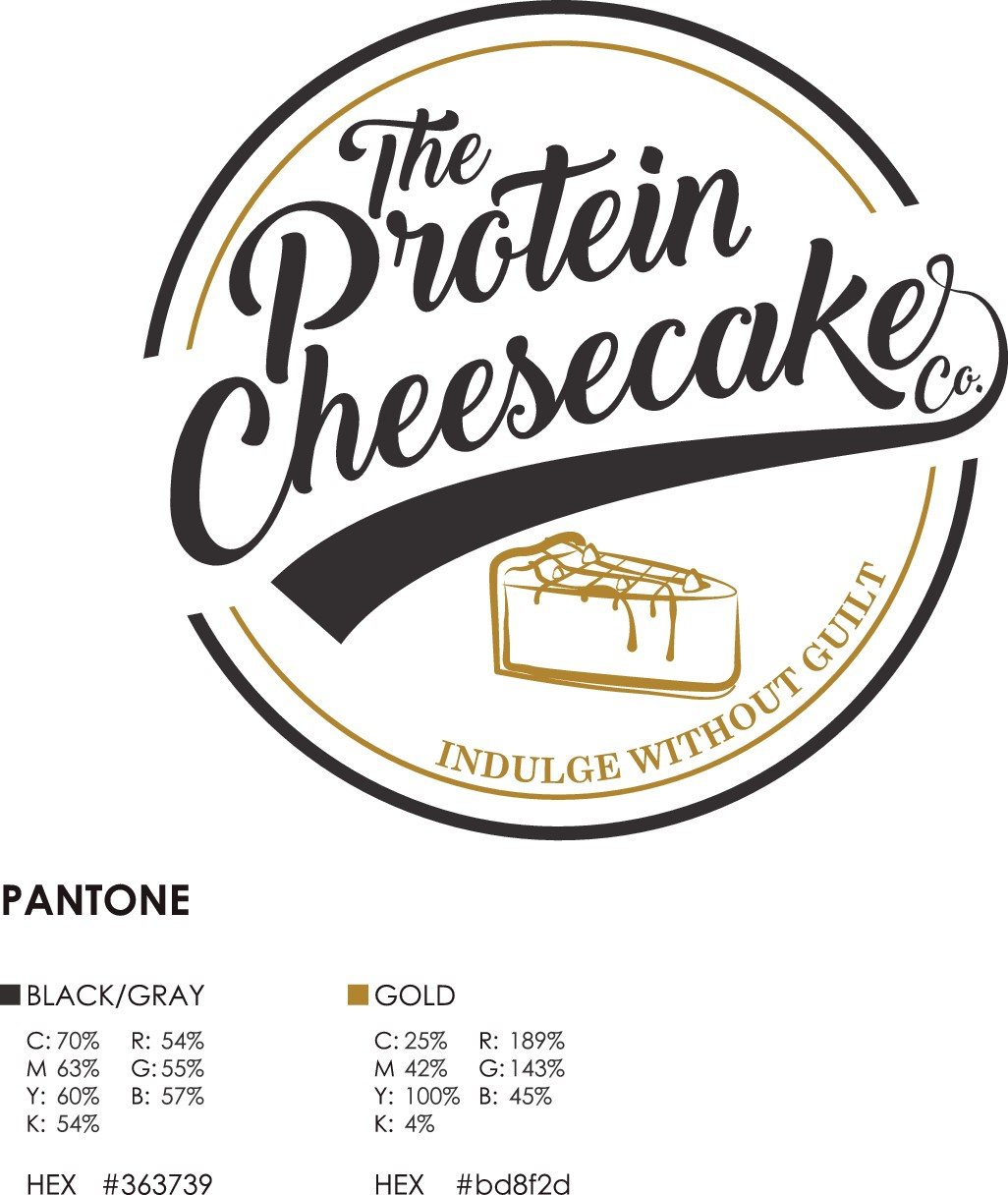 Create a delicious logo for the best healthy cheesecake ever made