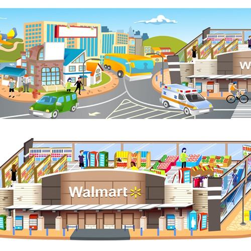 Walmart Baner
