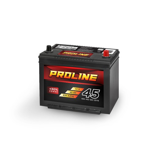 Battery label design