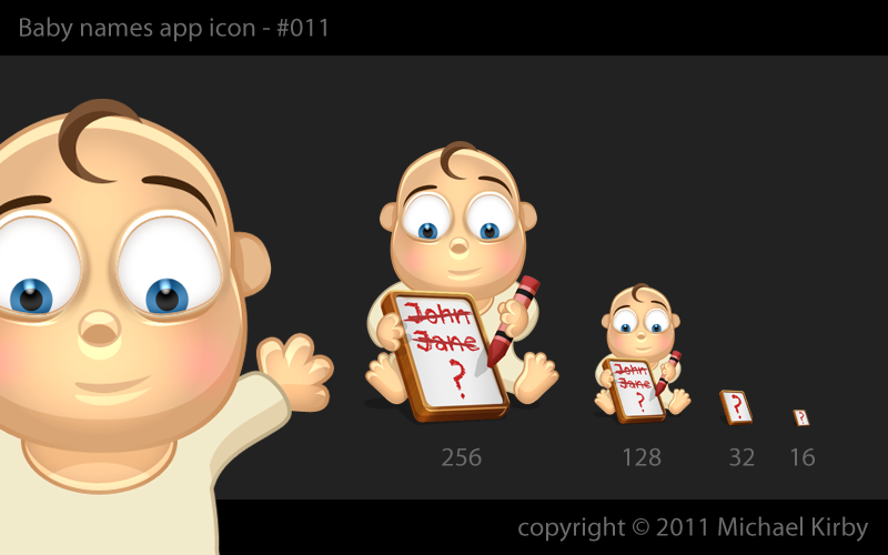 Icon for baby names app