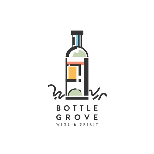 Logo concept for Bottle Grove