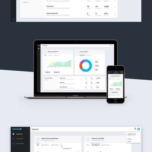App Dashboard Concept