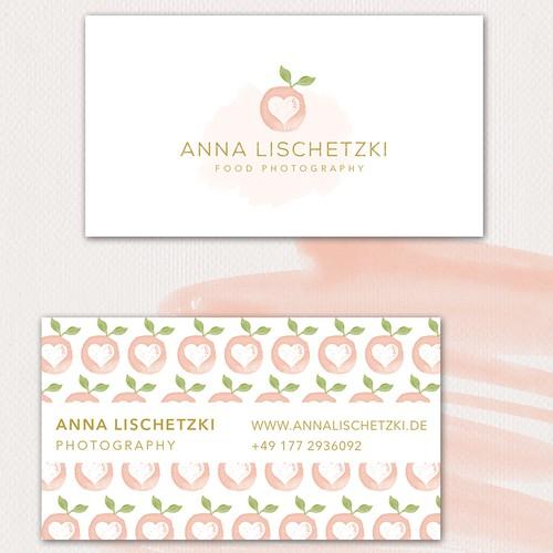 photography logo for anna