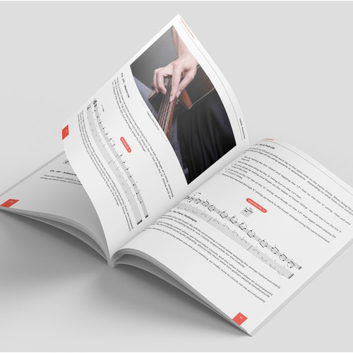 1-1 project book design (Cover and interior))