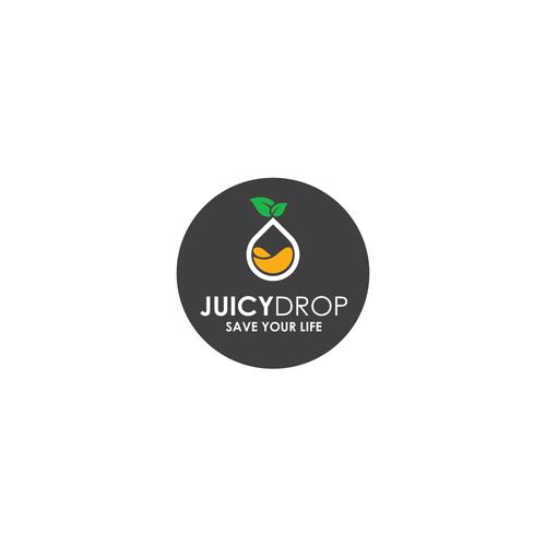 Fresh juice bar logo