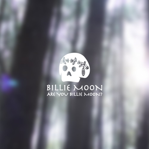 Finalist Logo Concept of Billie Moon