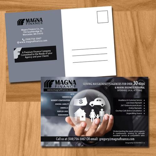 Magna Finance Postcard