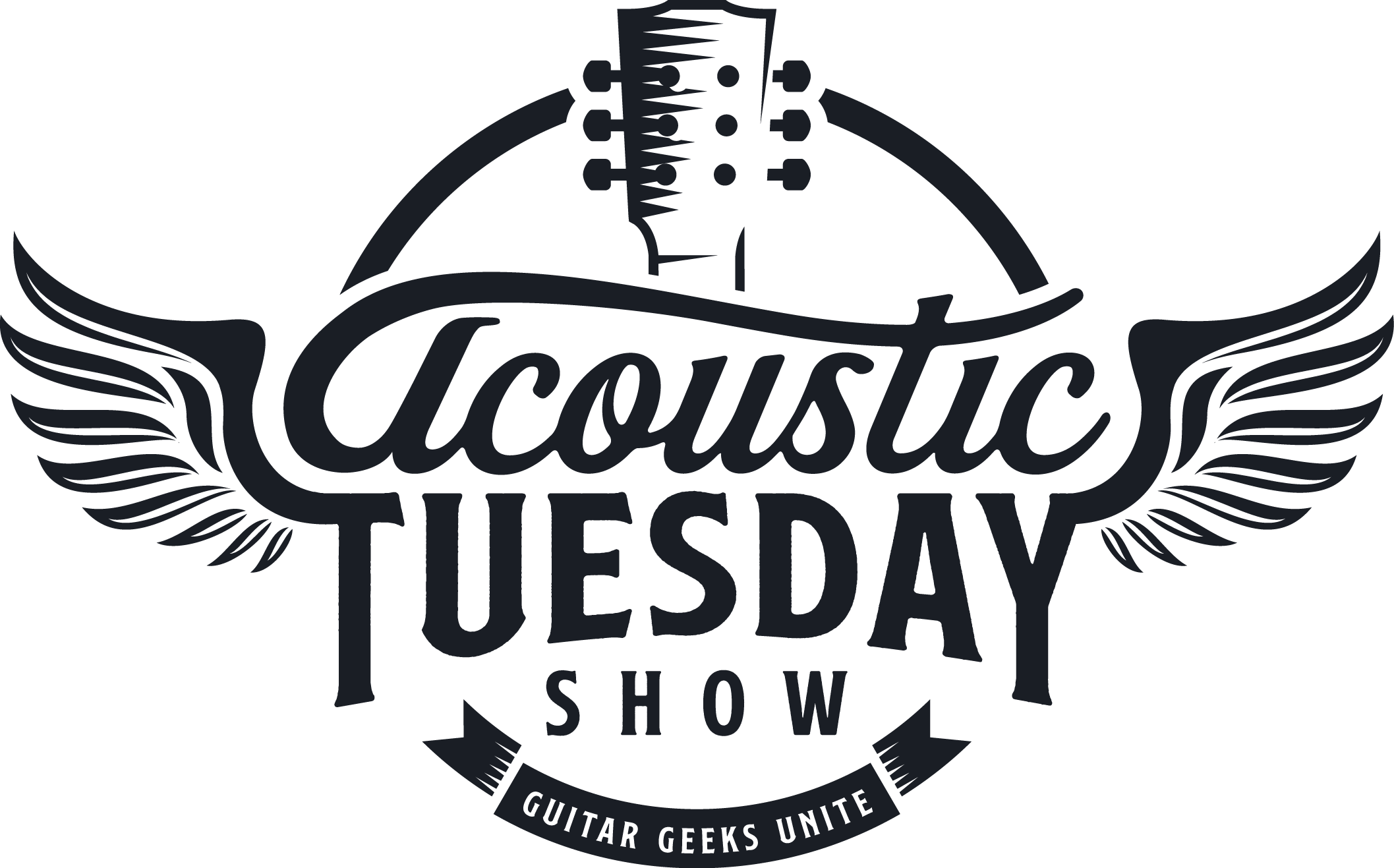 TV Show Logo for Acoustic Guitar Geeks