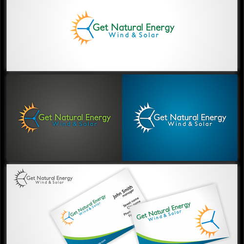 Logo for Get Natural Energy Wind & Solar