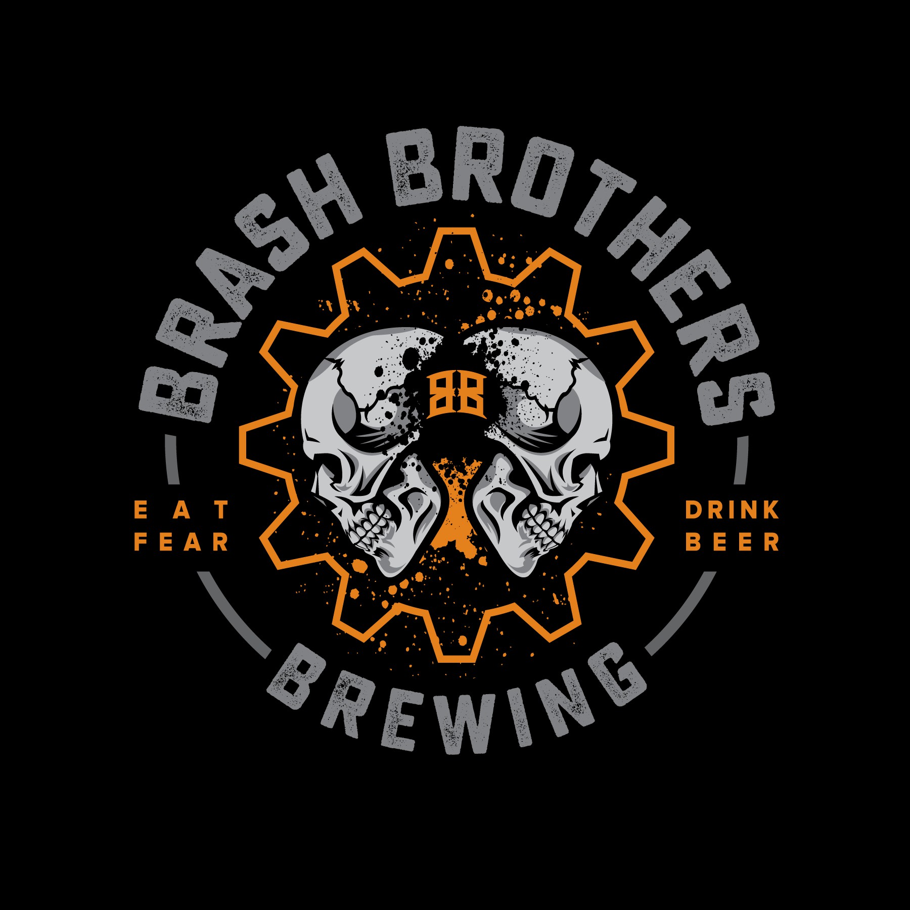 Design an unapologetic logo for a craft brewing company