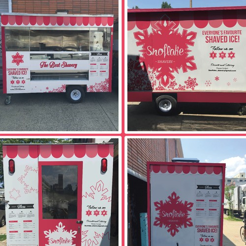 food stand wrap concept