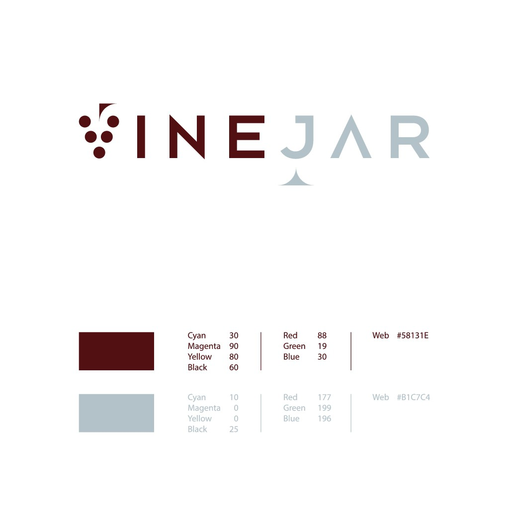 VineJar Logo Design