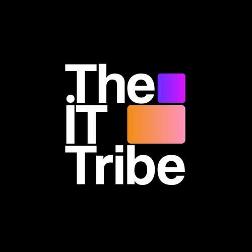Minimalistic logo for IT company
