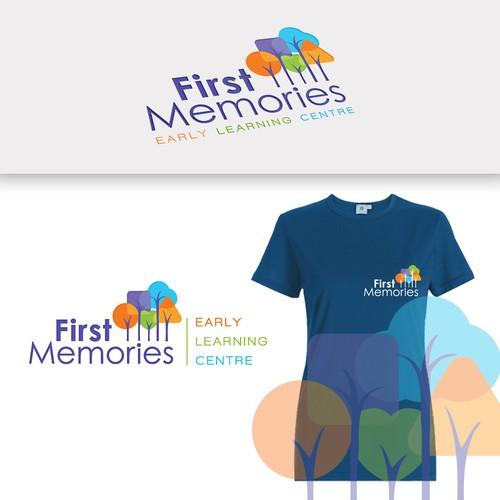 """Daycare logo """"FirstMemories"""""""