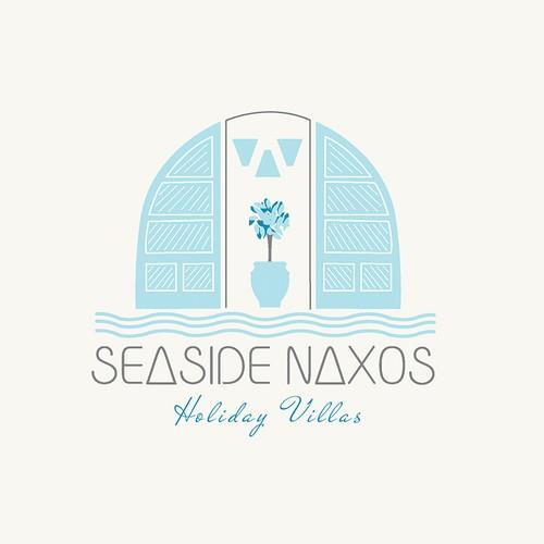 logo for seaside naxos