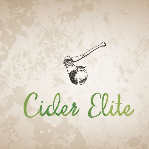"Hand-drawn concept for a ""hard cider club"""
