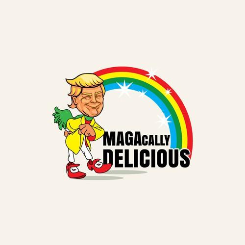 T-Shirt design for Magacally Delicious