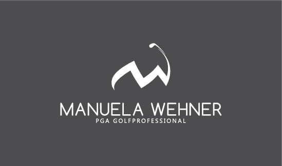 Modern, young and innovative PGA Golfprofessional is looking for her business card