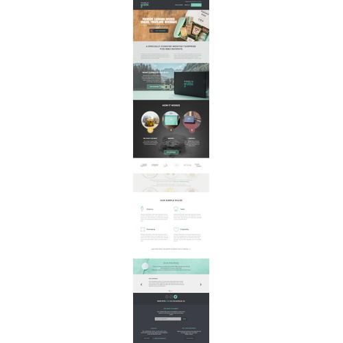 Shades of Green website