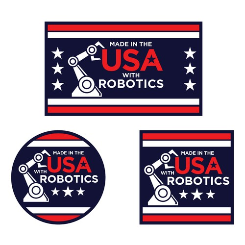 Made in the USA with ROBOTICS