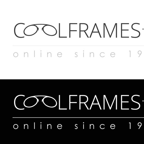Eyewear Website Online Since 1997 Requires Modern Logo