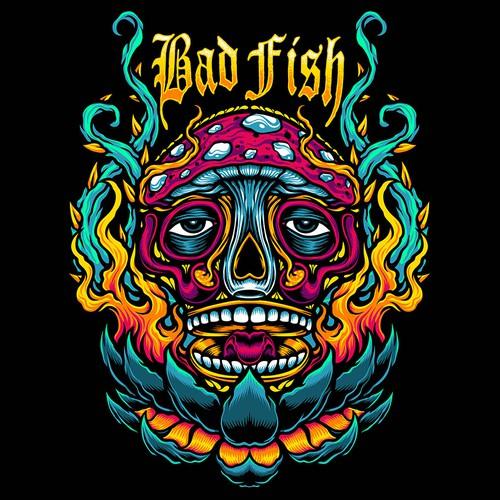 Punk Rock Reggae Surf Band Shirt