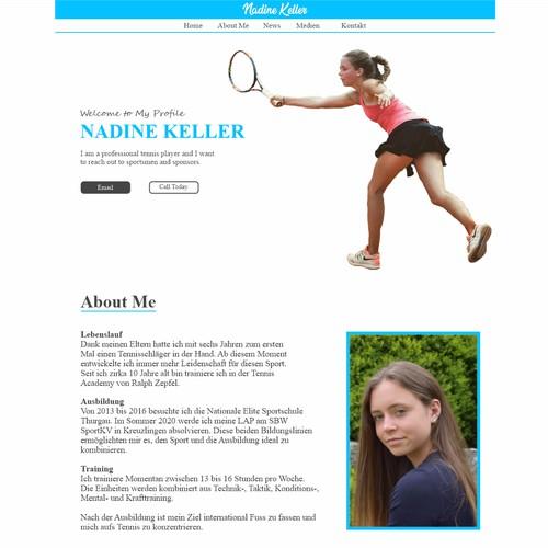 web page design idea