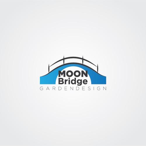 logo for Moon Bridge Garden Design