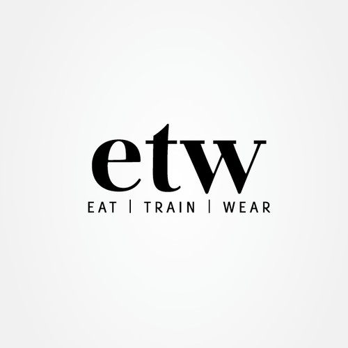 Create the next logo for Eat Train Wear