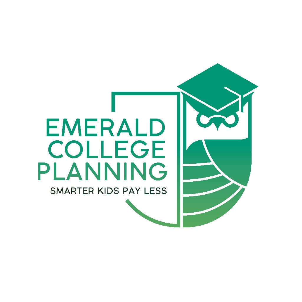 Skip the cap and gown gambit for this logo