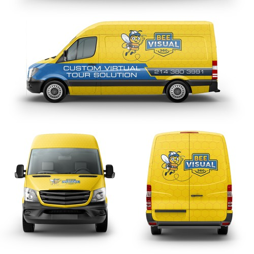Van Car Wrap Design